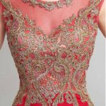 Marvelous Jing Shuangma Jewel Neckline Sheath Evening Dresses With Lace Appliques