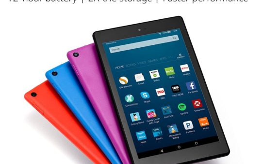 "All-New Fire HD 8 Tablet, 8"" HD Display, Wi-Fi, 16 GB - Includes Special Offers, Black"