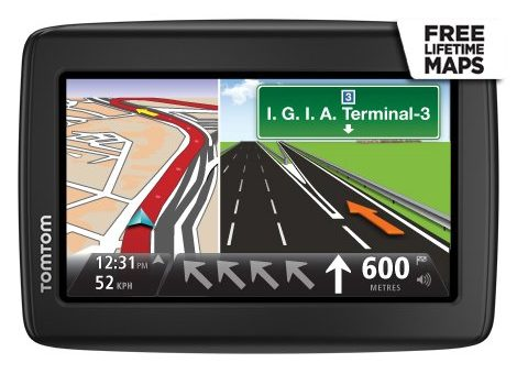 "TOMTOM START-25 5"" GPS NAVIGATION SYSTEM"