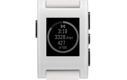 Pebble Technology Corp Classic 301WH Smartwatch (White)