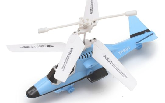 The Flyers Bay Powerful Radio Controlled Helicopter - Power Version 2.0 (Blue)