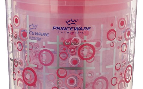 Princeware Twister Package Container, Set of 8, Pink