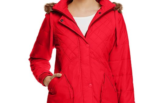 Fort Collins Women's Down Jacket (17770-ol_Red_XL)