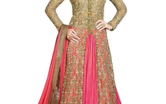 Salwar Style Women's Gown Latest Party Wear Designer Banglori silk Embroidery Semi Stitched Free Size Salwar Suit Dress Material Available On Sale